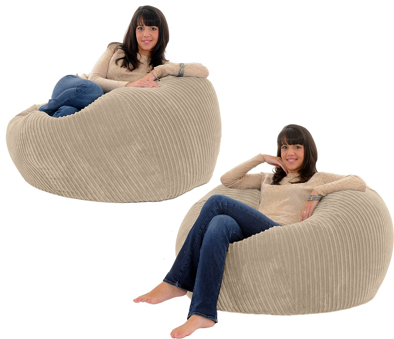 JUMBO CORD MONSTER BEANBAG Chair Giant Big Bean Adult Bag Bags
