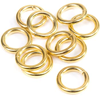 1.1//4 inch Bulk Hardware BH03147 D Ring 32mm Pack of 100 - Nickel Plated