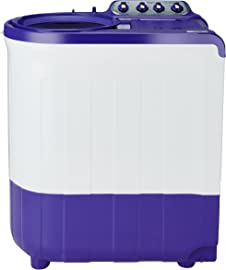 Whirlpool 8 kg 5 Star Semi Automatic Top Loading Washing Machine  ACE SUPER SOAK 8.0, Coral Purple, Supersoak Technology