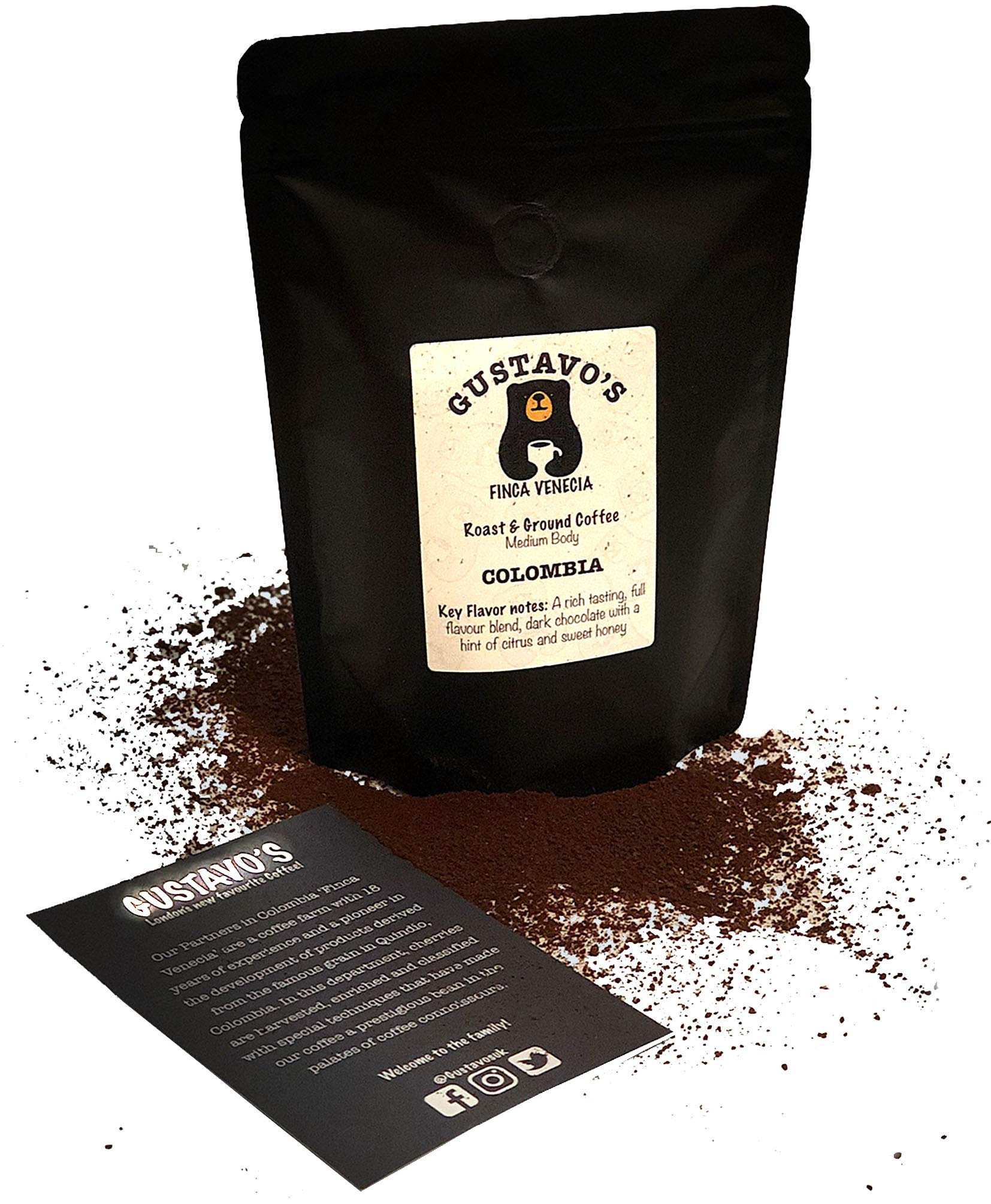 Gustavos Finca Venecia Premium Ground Coffee