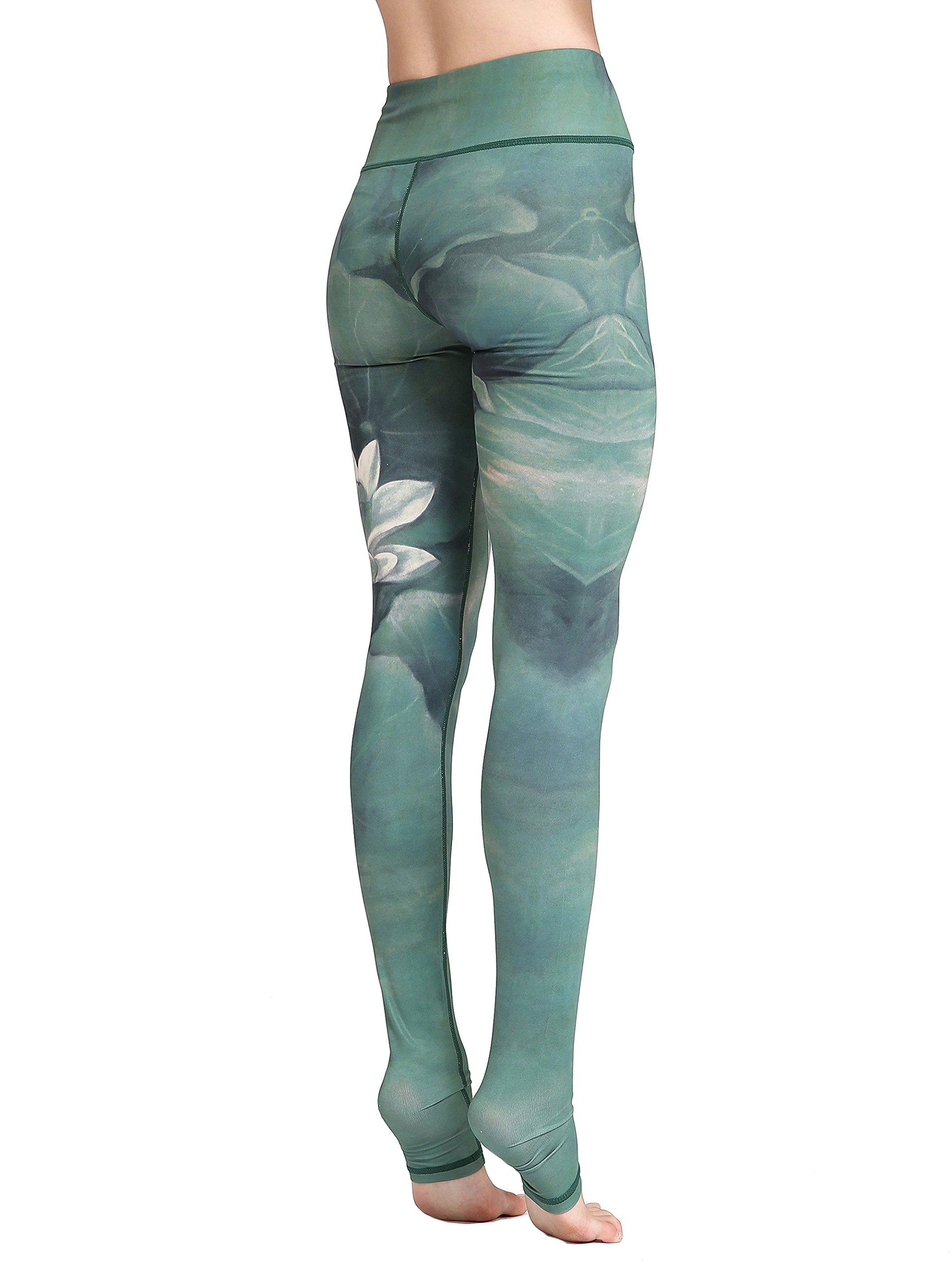 6e7a230052 81bMuTetW0L - FLYILY Women's Long Yoga Pants Sports Leggings Running Tights  High Waist Stretch Fitness Trousers