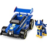 PAW Patrol Vehículo de Lujo Ready, Race, Rescue Chase Race & Go con Sonidos, para niños de 3 años o más