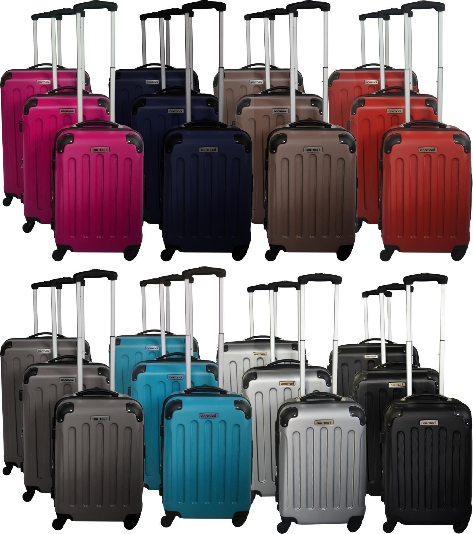 3er-Hartschalen-ABS-Hochglanz-Koffer-Set-in-verschiedenen-Motiven-und-Ausfhrungen