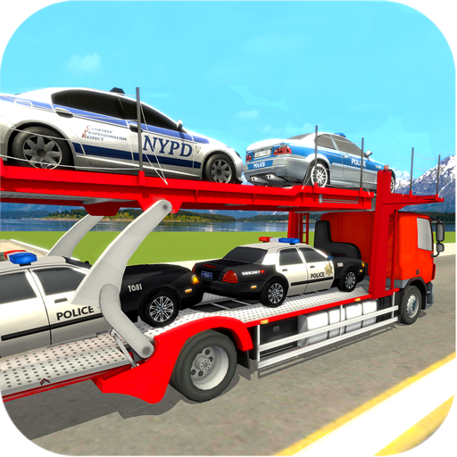 Police Car Transporter Truck: Flight Simulator (Monster Truck Ps4)