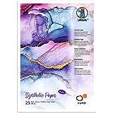 Ursus Yupo Paper, 16264600, 85 g, DIN A4, 25 vellen, synthetisch, glad oppervlak, scheur- en waterbestendig, uv-lichtecht, ex