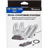 Subsonic - Estación De Carga Para 2 Mandos Dualshock 4 - Dual Charging Station para mando Playstation 4 / PS4 Slim / PS4 Pro