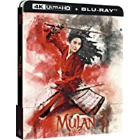 Mulan Live Action 2020 UHD 4K Steelbook (Limited Edition) (2 Blu Ray)
