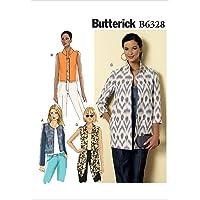 Butterick Motif Femme Veste, Tailles 8–16