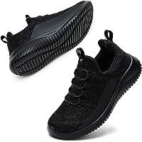 STQ Unisex Kids Trainers Slip on Sneakers