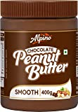 Alpino Chocolate Peanut Butter Smooth 400 G | Made with High Quality Roasted Peanuts, Cocoa Powder & Choco Chips | 100…