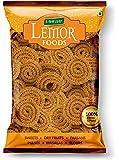 LEMOR Bhajni Chakli (500 g, 2 Packs of 250g) | Namkeen Snacks for Foodie Indians