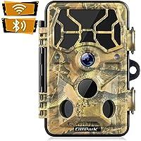 Campark Campark WiFi 20MP 1296P Caméra de Chasse Caméra de Surveillance Étanche 36 LEDs Caméra De Jeu avec Détecteur de…