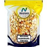 Neelam Foodland Special Sabudana Chivda (Sabudana Blended with Potato Sticks, Peanuts, Cumin Seeds and Salt), (400G)