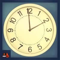 Speedy Spinning Clock - See the Time Fly !