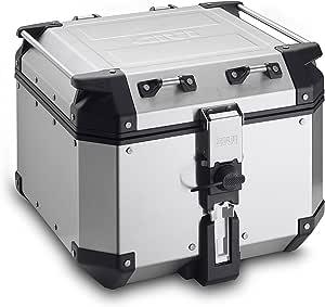 Givi Obk42a Aluminium Top Case Trekker Outback Monokey 42 Litres Max Load 10 Kg Auto