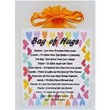 Bag of Hugs - Unique Fun Novelty Gift/Card/ Keepsake/ Send Hugs/Birthday/ Thinking of You