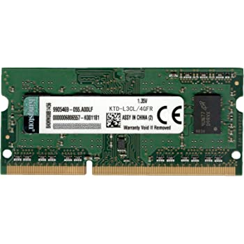 Kingston KTD-L3CL/4G - Memoria RAM de 4 GB, 1600 MHz