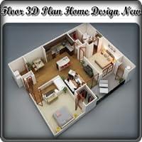 Floor 3D Plan Home Design New