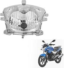 Autofy Headlamp/Headlight For Bajaj Discover 100 M (Silver)
