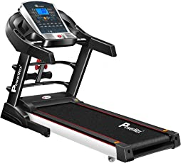 Powermax Fitness TDM-125S 2.0 HP Smart Run Function Auto Lubrication Motorized Treadmill