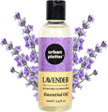 Urban Platter Lavender Essential Oil, 100ml [All Natural & Undiluted]