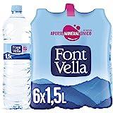 Font Vella Agua Mineral Natural, 6 x 1.5L