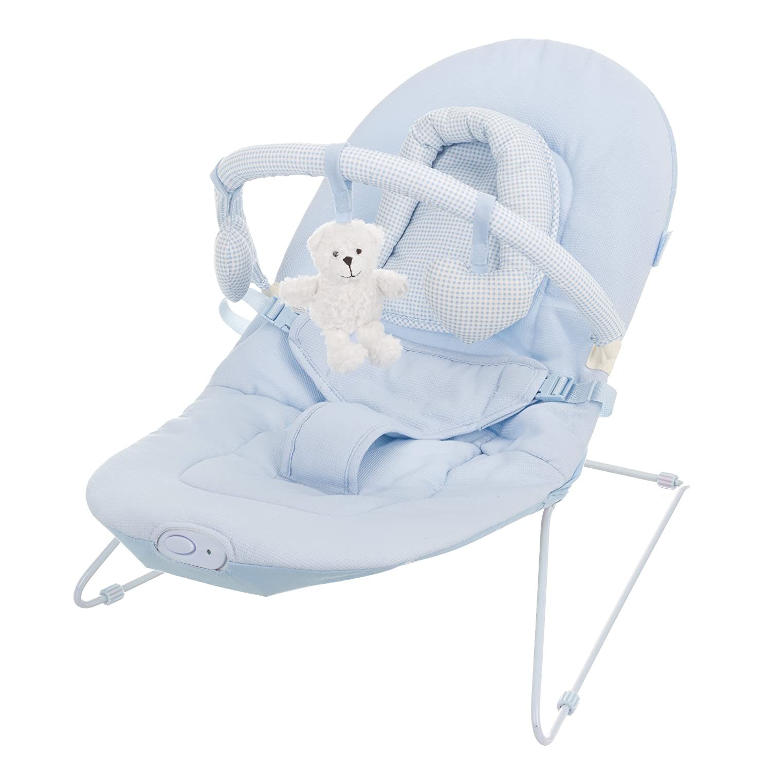 Obaby B is for Bear Bouncer for 0 6 Months Blue Amazon Baby