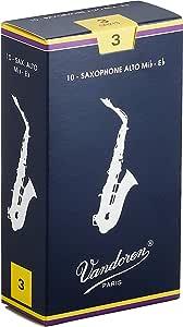 3,5 v12 mis vandoren ance clarinetto in sib confezione da 10 pezzi mod