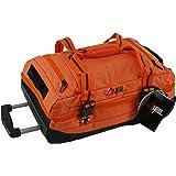 Sac de Voyage Cabine/Petite Taille ALPINI Aventura (Valise Souple) Garantie 2 Ans Double Compartiment Multi Rangement (Orange