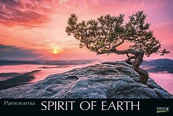 Spirit of Earth 2019: Großer Foto-Wandkalender über die atemberaubende Natur unserer Erde. Panorama Querformat: 58x39 cm.