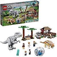 LEGO 75941 Jurassic World L'Indominus Dinosaure Rex contre l'Ankylosaure avec gyrosphère