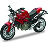 New Ray 44023, Ducati Monster 1100 - Moto a escala 1:12, Colores aleatorios, 1 Pieza , color/modelo surtido
