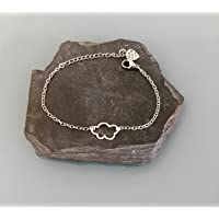 Bracciale donna bracciale in argento, bracciale donna, bracciale nuvola, idea regalo, gioielli regali, costellazione…