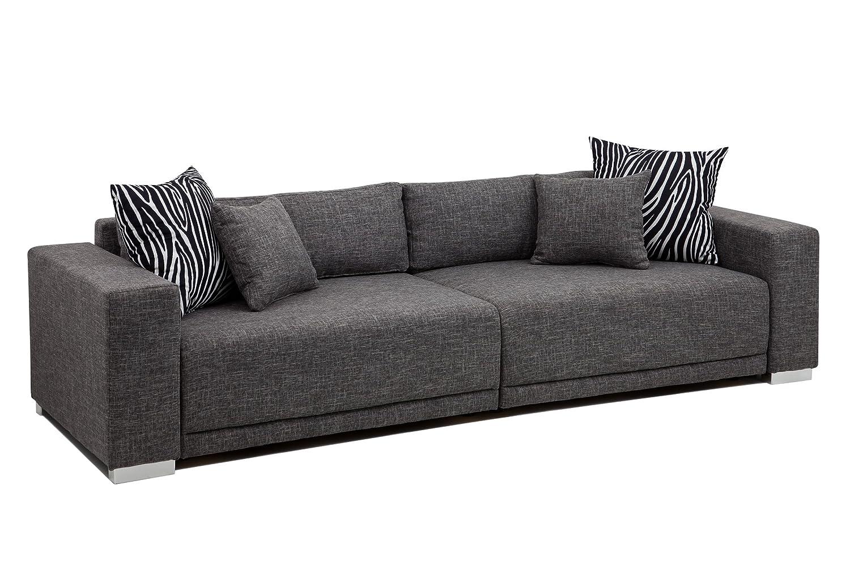 Xxl sofa grau big sofa schwarz grau with big sofa schwarz for U couch grau