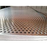 1250 x 625 x 1,5 mm geperforeerde plaat RV 5-8 (aluminium)