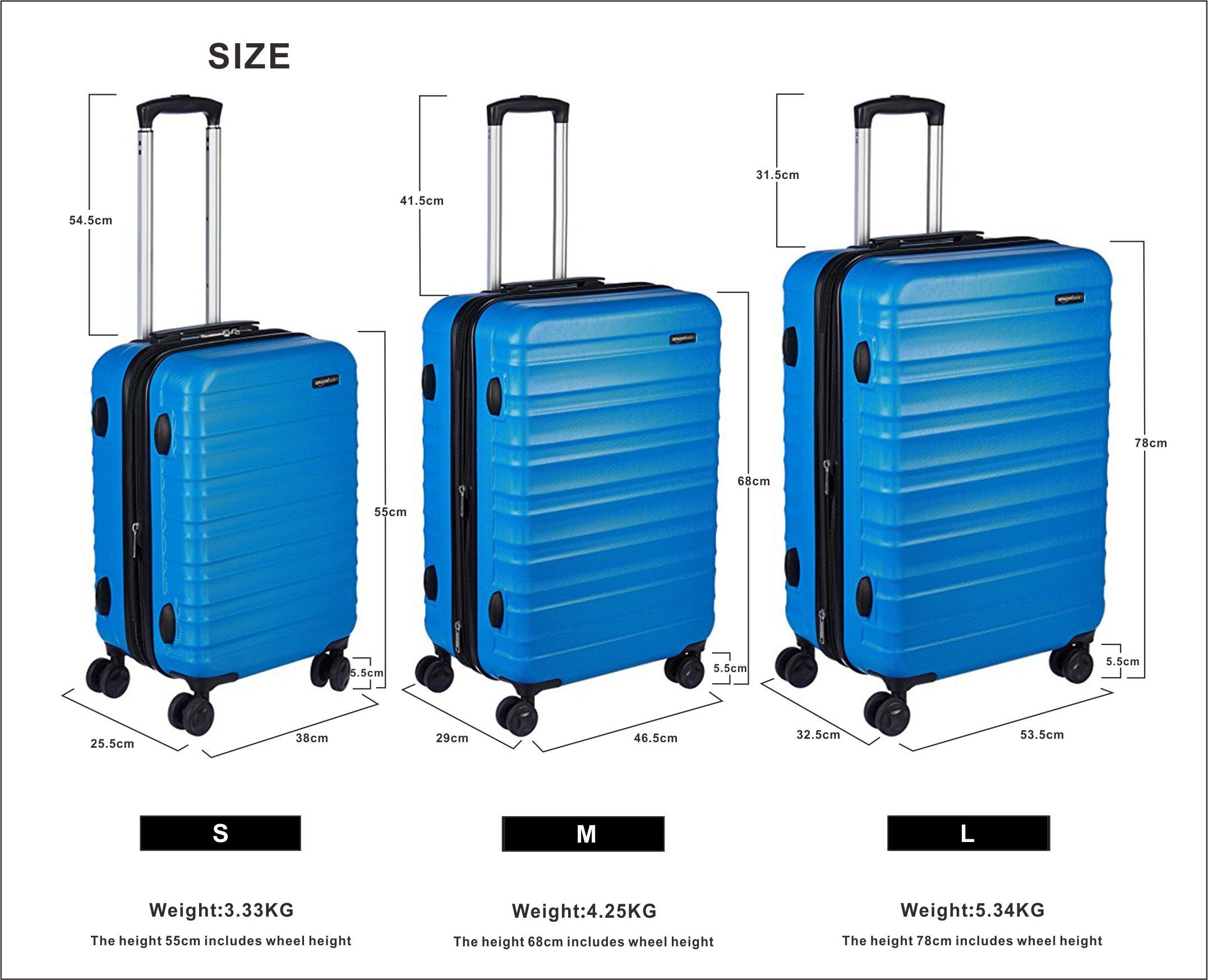 AmazonBasics-Hartschalen-Koffer