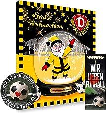 SG Dynamo Dresden Premium Adventskalender gefüllt inkl. Poster SGD + gratis Lesezeichen & Aufkleber Wir lieben Fussball