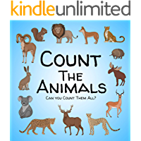 Count the Animals: A Fun Puzzles And Counting Game Book For Childrens Ages 2-5 Years Old - Active Book For Preschoolers…