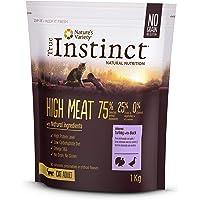 True Instinct High Meat Adult - Nature's Variety - Croquettes pour Chat Adulte avec Dinde Désossée - 1kg