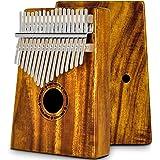 EastRock Kalimba, Instrument de Musique Adulte, Piano à pouce 17 touches avec marteau, instrument de musique portable, cadeau