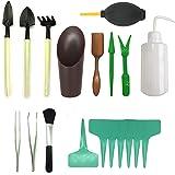 Pietypet - Lot de 21mini outils de jardin - Pour transplantation de plantes succulentes