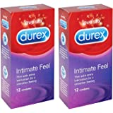 2x Durex Intimate Elite Feel Kondom Box von 12