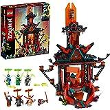 LEGO Ninjago IlTempiodellaFolliaImperiale, Set da Costruzione con 6 Minifigure, Giocattoli Ninja per Bambini, 71712
