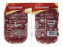 Gourmet Taquitos de Jamón Curado, 2 x 75g (Refrigerado)