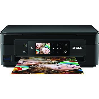Epson C11CF30403 Expression Home XP-442 3-in-1 Tintenstrahl-Multifunktionsgerät (Drucker, Scanner, Kopierer, WiFi, Duplex, Einzelpatronen) schwarz