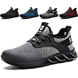 SUADEX Safety Shoes Men Women Safety Trainers Lightweight Steel Toe Cap Trainers Boots