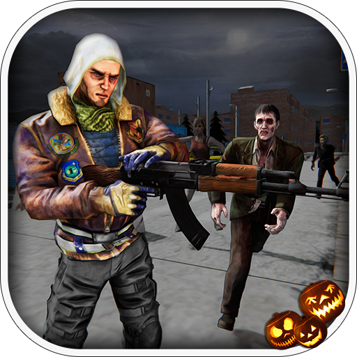 Halloween Town - Dead Target Zombie Shooting (Halloween Friday 13th)