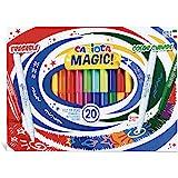 Carioca Stereo Magic20 Marqueurs effaçables spéciaux Encre de couleur changeante