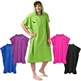 Fit-Flip Changing Towel, extremely light and fast-drying, Surf Poncho for Men & Women, Changing Poncho extra long in Microfib