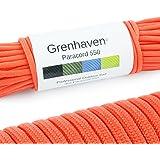 Grenhaven Paracord touw in verschillende kleuren Paracord koord parachute koord universeel inzetbaar survival touw met 7 stre